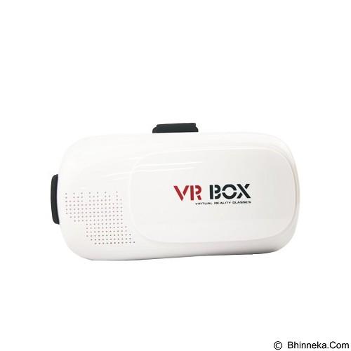 PANZER VR Box Virtual Reality Glasses 3D - Full White (Merchant) - Gadget Activity Device