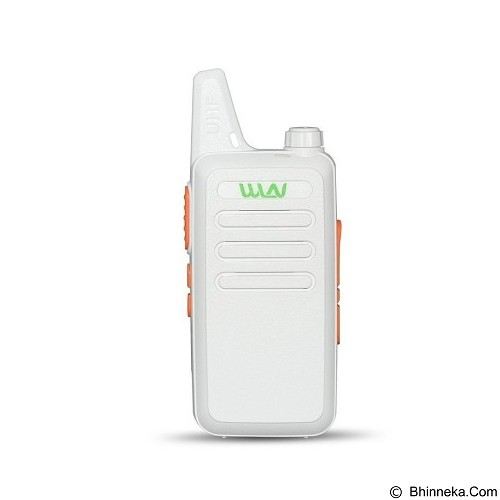 PANZER Walkie Talkie WLN HT Two-Way Radio - White (Merchant) - Handy Talky / Ht