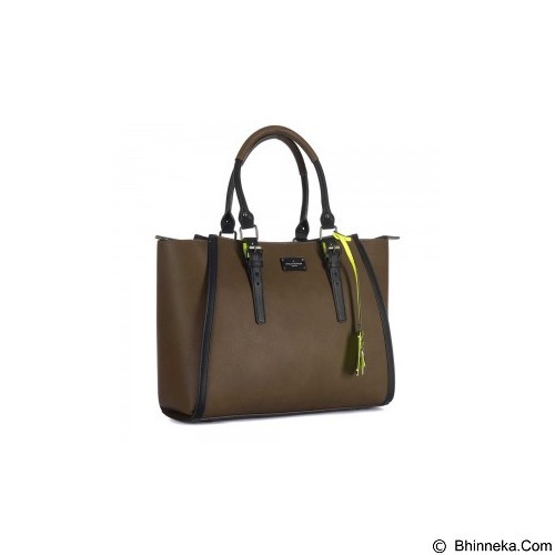 PAUL'S BOUTIQUE Drew The Newburgh Collection Olive - Tas Tangan Wanita