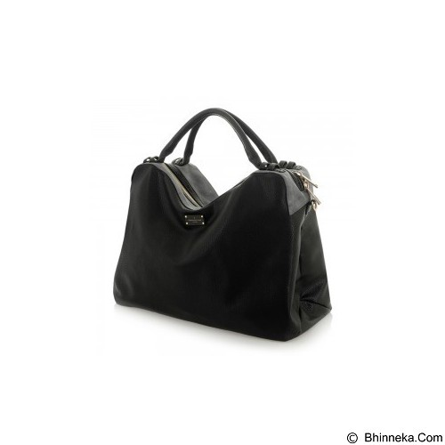 PAUL'S BOUTIQUE Lauren - Black Metallic Grey - Tas Tangan Wanita