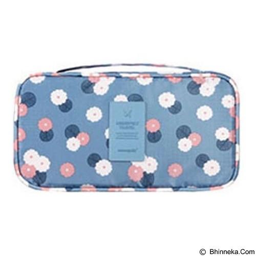 PEACHES OLSHOP Underwear Organizer Bag - Blue (Merchant) - Container