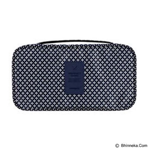 PEACHES OLSHOP Underwear Organizer Bag - Navy Blue (Merchant) - Container