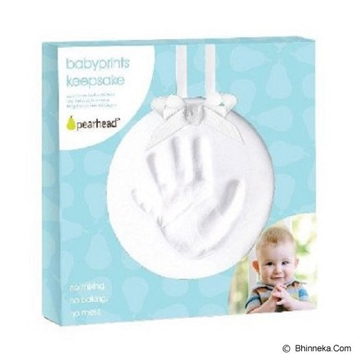 PEARHEAD Babyprints Keepsake [PH50020] - White - Nursery Furniture & Decor
