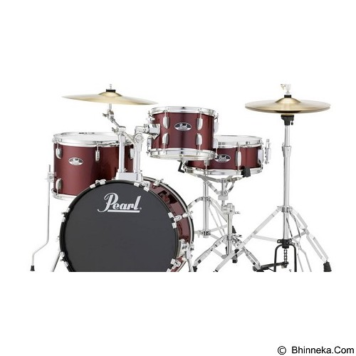 PEARL Drum Kit Roadshow Series [RS584C/C+] - Wine Red - Drum Kit