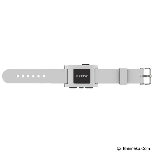 PEBBLE Classic - White - Smart Watches