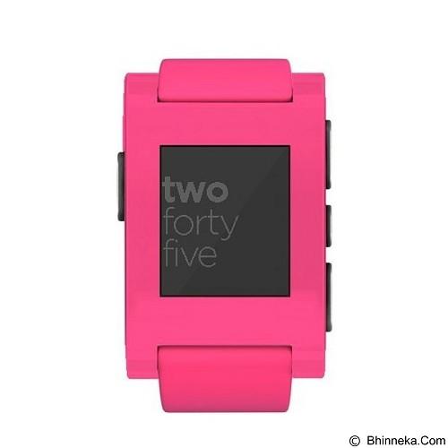 PEBBLE Neon - Pink (Merchant) - Smart Watches
