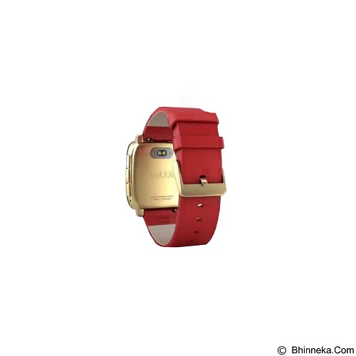 PEBBLE Time Stell - Red (Merchant) - Smart Watches
