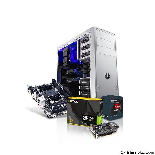 PEMMZ Desktop Custom PC Quartz - Desktop Rakitan Amd