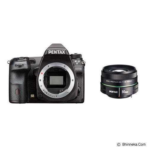 PENTAX K3-II With SMC DA 50mm F1.8 - Camera Slr