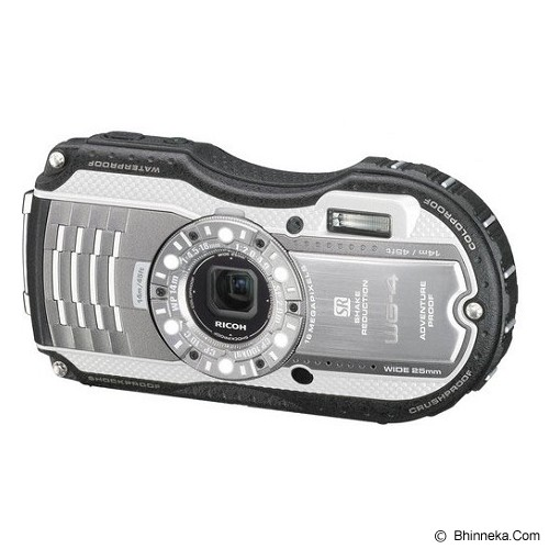 PENTAX Optio WG-4 - Silver - Camera Underwater