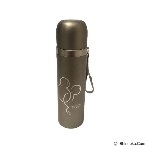 PERLENGKAPANDAPURONLINE Botol Air Metalik Bermotif 500 ml - Silver (Merchant) - Botol Minum