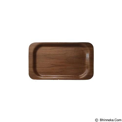 PERLENGKAPANDAPURONLINE Nampan Kayu Segi 45X26 cm (Merchant) - Nampan / Baki