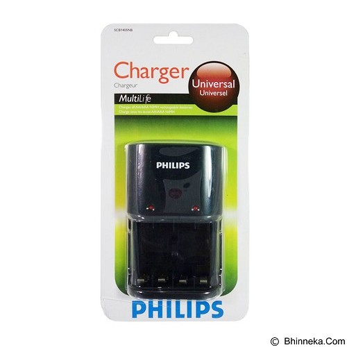 PHILIPS Charger [SCB1405] (Merchant) - Battery and Rechargeable