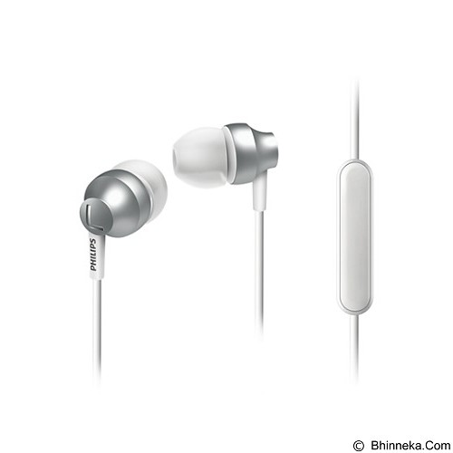 PHILIPS Headphone With Mic SHE 3855SL - Silver