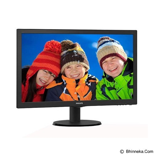 PHILIPS IPS LED Monitor 23.6 Inch [243V5QHSBA] - Monitor Led Above 20 Inch