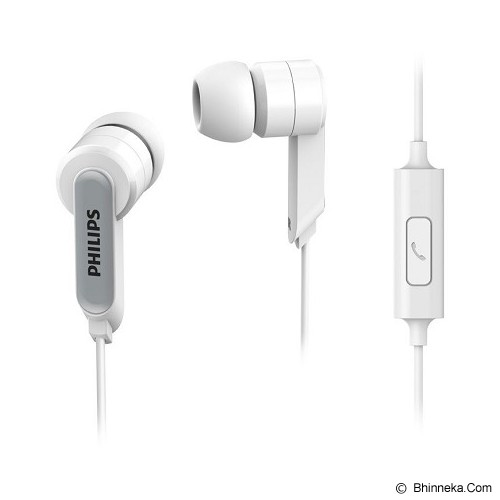 PHILIPS In Ear Headphones [SHE 1405] - White - Earphone Ear Monitor / Iem