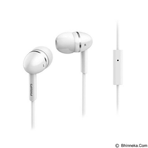 PHILIPS In Ear Headphones [SHE 1455] - White - Earphone Ear Monitor / Iem