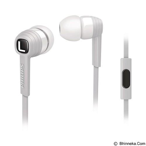PHILIPS In Ear Headphones [SHE 7055WT] (Merchant) - Earphone Ear Monitor / Iem