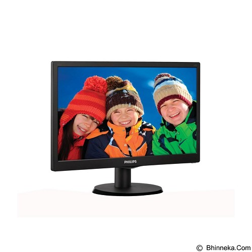 PHILIPS LED Monitor 15.6 Inch [163V5LSB23] - Monitor Led 15 Inch - 19 Inch