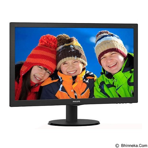 PHILIPS LED Monitor 21.5 Inch [223V5LHSB2] - Monitor Led Above 20 Inch