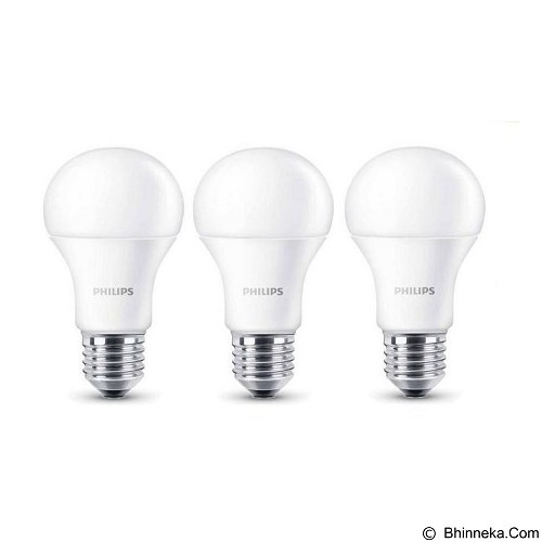 PHILIPS Lampu LED Cool Day Light 13-100W 3 Pcs - Lampu Bohlam / Bulb