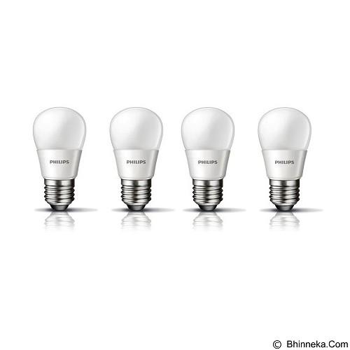 PHILIPS Lampu LED Cool Day Light 3-25W 4 Pcs - Lampu Bohlam / Bulb