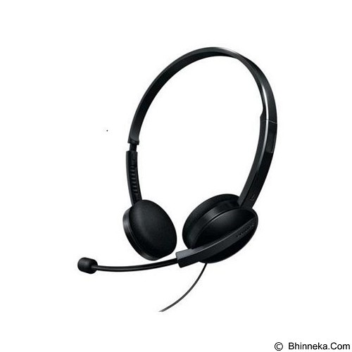PHILIPS Original PC Headset SHM3550 [UAHBC26] - Black (Merchant) - Headphone Portable