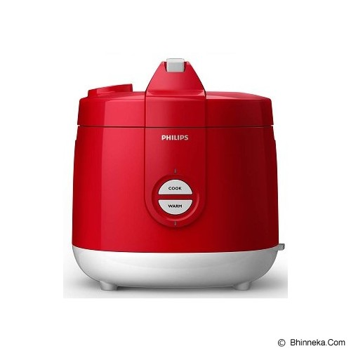 PHILIPS Rice Cooker [HD 3127/32] - Premium Red - Rice Cooker