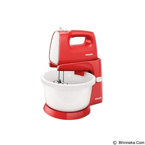 PHILIPS Stand Mixer [HR 1559/10] - Red - Mixer