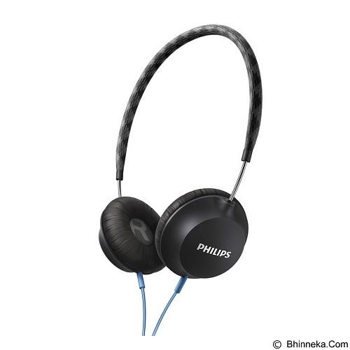 PHILIPS Strada On Ear CitiScape Headband Headphones [SHL 5100BK] - Black (Merchant) - Headphone Portable