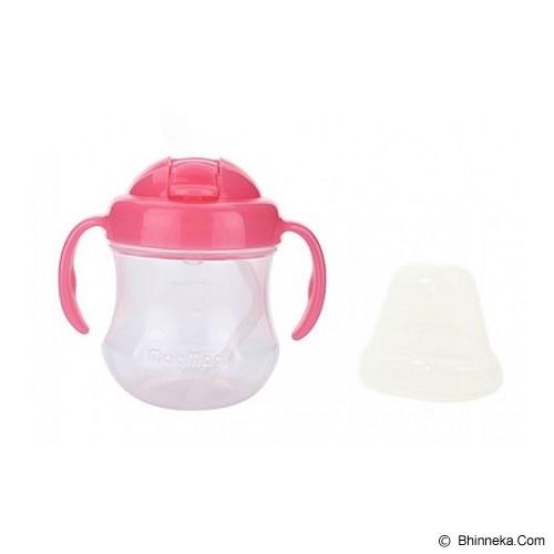 PIGEON Step 3 Mag Mag Import BPA Free Straw Cup 8M+ [5643] - Pink - Perlengkapan Makan dan Minum Bayi
