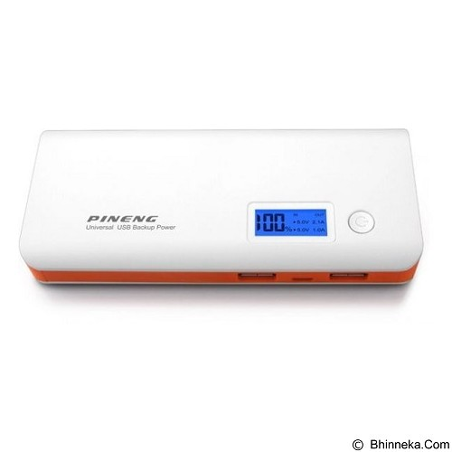 PINENG Powerbank 20000mAh [PN968] - Orange (Merchant) - Portable Charger / Power Bank