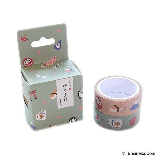 PINKABULOUS Masking Tape Joytop  Japan Culture (Merchant) - Tas Kosmetik / Make Up Bag