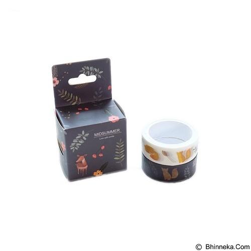 PINKABULOUS Masking Tape Joytop Midsummer  (Merchant) - Tas Kosmetik / Make Up Bag