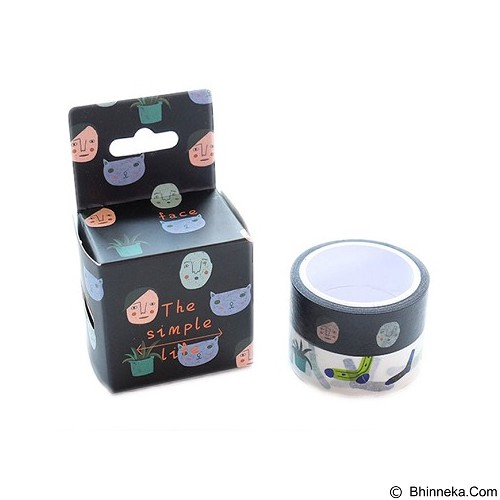 PINKABULOUS Masking Tape Joytop The Simple Life (Merchant) - Tas Kosmetik / Make Up Bag