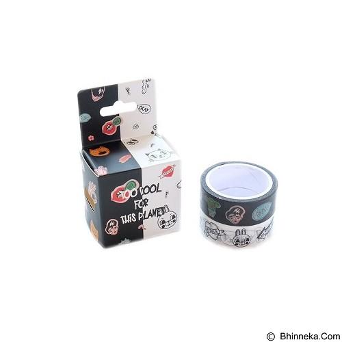 PINKABULOUS Masking Tape Joytop Too Cool (Merchant) - Tas Kosmetik / Make Up Bag