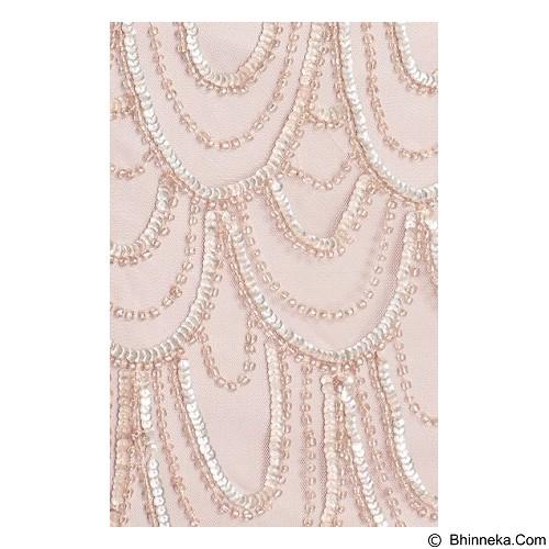 PISARRO NIGHTS Embellished Mesh Cocktail Dress Regular (Merchant) - Mini Dress Wanita