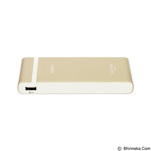 PISEN Color Power 10000mAh - Gold (Merchant) - Portable Charger / Power Bank
