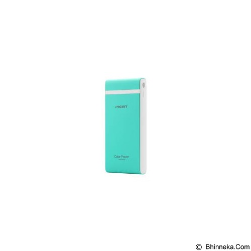 PISEN Color Power 10000mAh - Green (Merchant) - Portable Charger / Power Bank