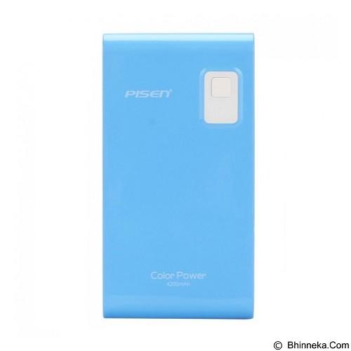 PISEN Color Power 4200mAh - Lake Water Blue (Merchant) - Portable Charger / Power Bank