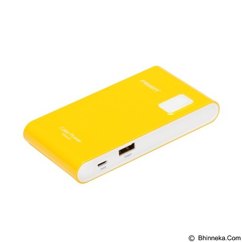 PISEN Color Power 4200mAh - Lemon Yellow (Merchant) - Portable Charger / Power Bank