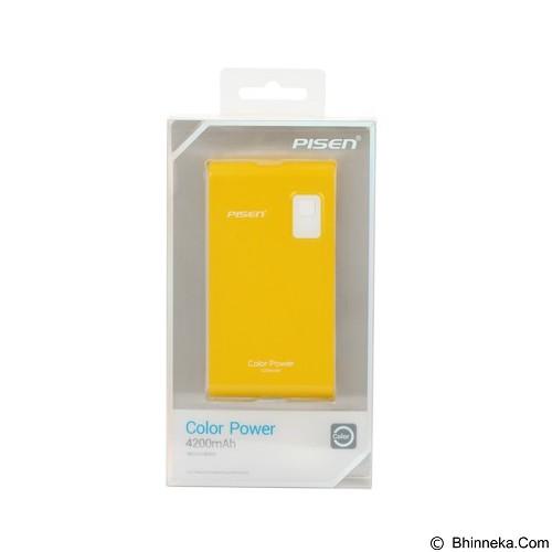 PISEN Color Power 4200mAh - Lemon Yellow (Merchant) - Portable Charger / Power Bank