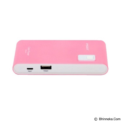 PISEN Color Power 4200mAh - Rosy Pink (Merchant) - Portable Charger / Power Bank