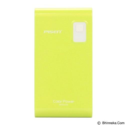 PISEN Color Power 5600mAh - Apple Green (Merchant) - Portable Charger / Power Bank