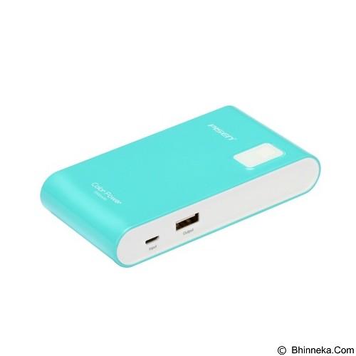 PISEN Color Power 5600mAh - Blue Green (Merchant) - Portable Charger / Power Bank