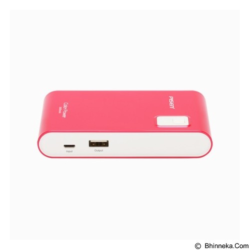 PISEN Color Power 5600mAh - Rose Red (Merchant) - Portable Charger / Power Bank