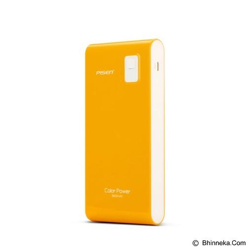 PISEN Color Power 9600mAh - Orange (Merchant) - Portable Charger / Power Bank