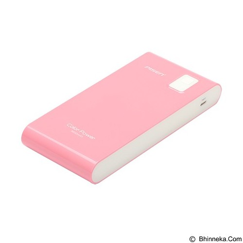 PISEN Color Power 9600mAh - Rose Pink (Merchant) - Portable Charger / Power Bank