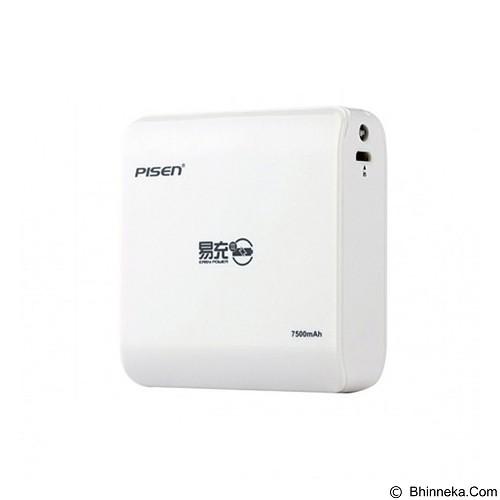 PISEN Easy Power 7500mAh - Apple White (Merchant) - Portable Charger / Power Bank