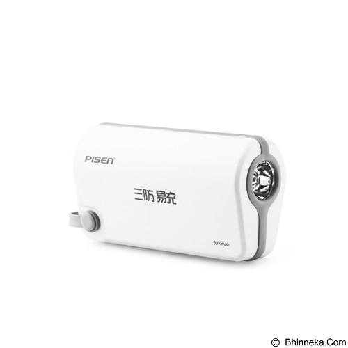 PISEN Easy Power III ODV 5000mAh - Apple White (Merchant) - Portable Charger / Power Bank